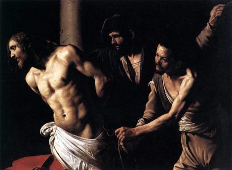 Caravage, La flagellation du Christ, Musée des Beaux-Arts de Rouen Photo:WGA