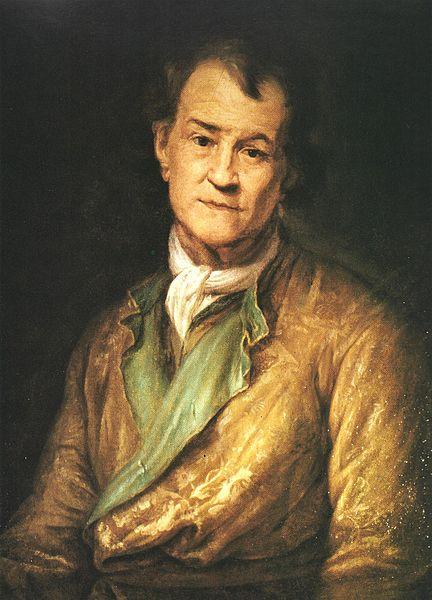 Pierre Puget, Autoportrait, Huile sur toile, Musée du Louvre
