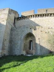 Niche à coussièges des remparts du fort Saint-André © Le Jardin des Arts
