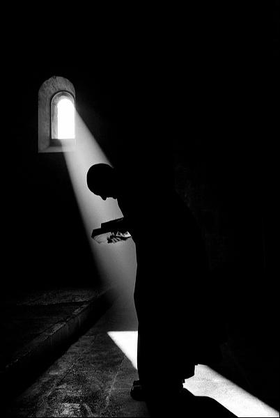 Au monastère de Ganagobie © Bruno Rotival