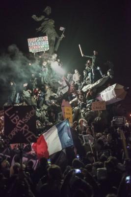 Martin Argyroglo, Marche républicaine du 11 janvier 2015 à Paris
