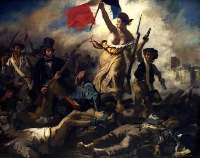 Eugène Delacroix, La liberté guidant le peuple, 1830, Paris, Musée du Louvre