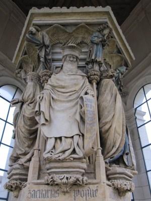 Le Puits de Moïse, prophète Zacharie © Le Jardin des Arts